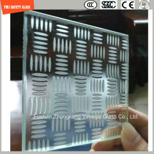 3-19mm Acid Etched Tempered Anti Slipping Construction Glass pictures & photos