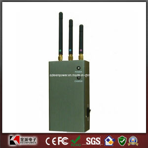 Portable GSM CDMA 3G Cell Phone Jammer pictures & photos