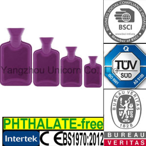 TUV SGS Phthalate BS Rubber Hot Water Pack