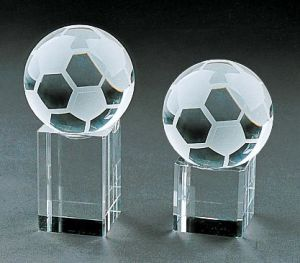 Football Glass Football Decoration with Vivid Shape pictures & photos