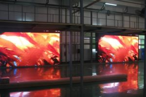 Indoor P7.62 Low Power Consumption LED Display pictures & photos