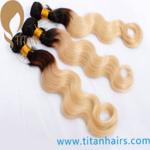 Ombre Body Wave Brazilian Hair Weave Hair Weft pictures & photos