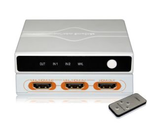4k 3X1 Mhl to HDMI Switcher (HDSW0301M1) pictures & photos