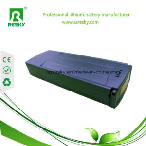 Rear Rack Li-ion 36V 16ah Battery for 350W E-Bike Motor