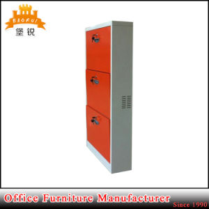 Modern Design Cheap Customized 3-Drawer Steel Shoes Cabinet pictures & photos