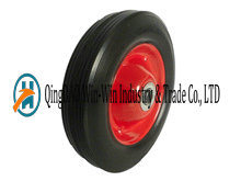 8 Inch Solid Rubber Wheels for Cleaner with Ball Bearing pictures & photos