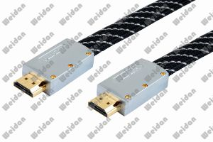 Economical Professional V1.4 V2.0 Flat HDMI Cable pictures & photos