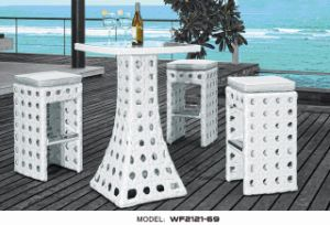 Nice Rattan Outdoor Furniture/Cafe & Bar Sets (WF221-12)