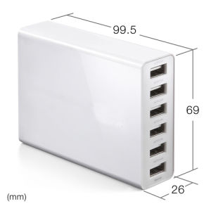 AC Adapter with Six Ports for iPad, iPhone (LCK-MU017) pictures & photos