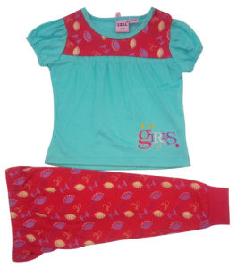 Summer Baby Girl Children′s Suit for Kids Wear pictures & photos