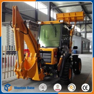 New Design Compact Small Backhoe Loader with Lowest Price pictures & photos