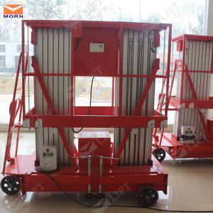 10m Hydraulic Portable Man Lift pictures & photos