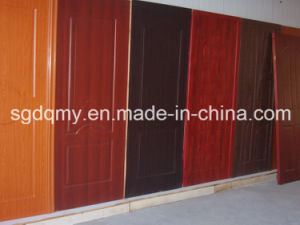 Woodgrain Melamine HDF Door Skin pictures & photos