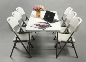 Best Lifetime Zown Blow Mould Folding Table and Chair pictures & photos
