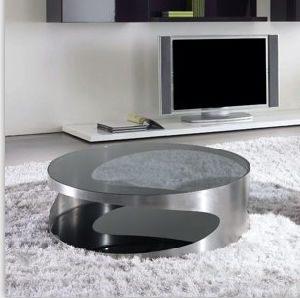 (CJ-1206A) Home Furniture Fashion Design Tempered Glass Coffee Table pictures & photos