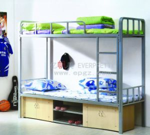 Multifunction Wood and Steel Kids Bunk Bed with Drawer and Stairs Sf-24r pictures & photos