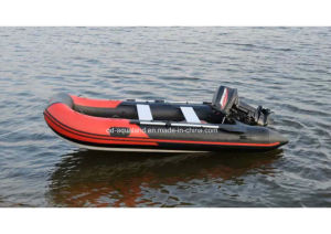 Aqualand 12feet 3.6m Rib Motor Boat /Rigid Inflatable Fishing Boat (RIB360) pictures & photos