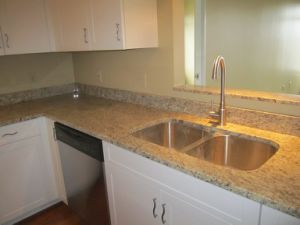 Giallo Ornamental Granite Kitchen Countertop pictures & photos