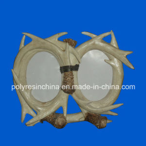 Polyresin Double Antler Frame pictures & photos