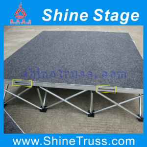 Anti-Slip Carpet Spider Stage, Aluminum Pop up Stage, Lighting Stage pictures & photos