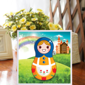 Factory Direct Wholesale New Children DIY Handcraft Sticker Promotion Kids Girl Boy Gift T-171 pictures & photos