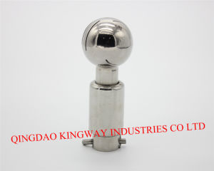 Stainless Steel Rotary Sanitary Cleaning Ball. pictures & photos