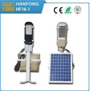 Environmental Friendly 12W LED Solar Lighting with Ce Certification (HF112) pictures & photos