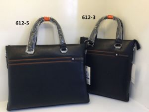Guangzhou Suppliers New Items Designer Leather Men Business Handbags Briefcase (612-3) pictures & photos