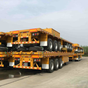 3axle 40FT Container Semitrailer Trailer Truck pictures & photos