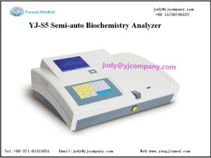 8 Standard Filters Semi Automatic Biochemistry Analyzer Yj-S5 pictures & photos