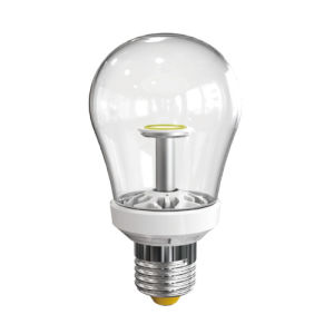 Fashionable & Unique Appearance LED Bulb with 360deg Beam Angle (High Lumen at High CRI) Clear & Milky Cover for Option