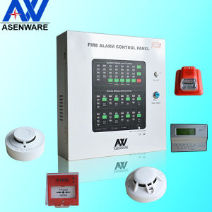 Asenware Design Brand Conventional Fire Contrl Panel with Battery pictures & photos