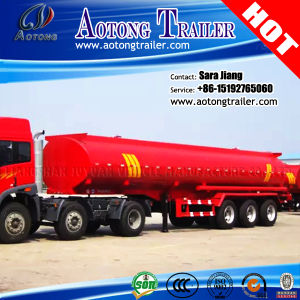 45000L Tri Axles Oil Fuel Tanker Semi Trailer for Sale pictures & photos