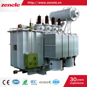 33 Kv Three-Phase Oil-Immersed Electric Power Transformers pictures & photos