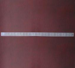 Plastic Folded Clip Strip (Z-804012)