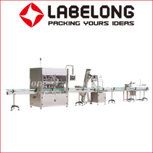 Linear Type Oil Filling Machine for Cooking Oil pictures & photos
