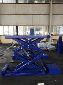 Ce Hydraulic Scissor Car Lift