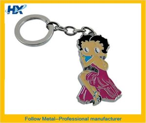 Key Chain with Beautiful Girl