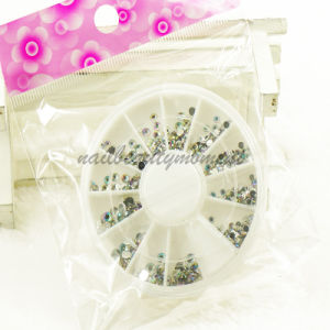 Nails Art Crystal Ab Rhinestone in Wheel Beauty Accessories (D59) pictures & photos