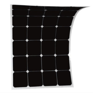 Factory Directly Sale 100W Semi Flexible Solar Panel Solar Cell Marine pictures & photos