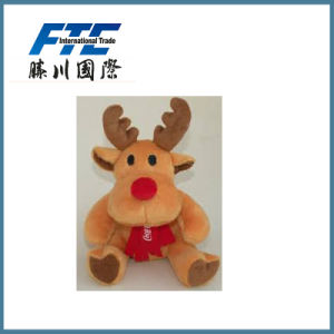 Custom Stuffed Plush Christmas Moose Toy pictures & photos