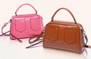 New Fashion Hight Quality Women Leather Handbag (052)
