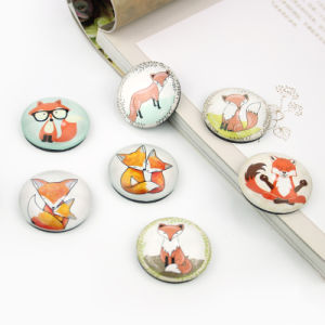 Cartoon Animal Printing 3D Epoxy Fridge Magnet for Deco pictures & photos