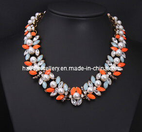 Shourouk Style Pearl & Crystal Stone Fashion Jewelry (XJW13222) pictures & photos