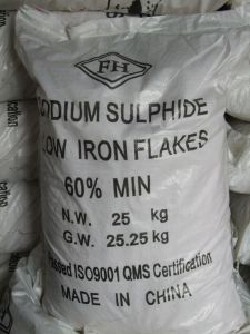 60% Red or Yellow Flake, Sodium Sulfide pictures & photos
