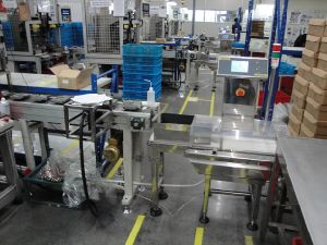 Online Scale Equipment for Products After Packaging pictures & photos