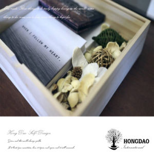Hongdao Wooden Gift Box with Sliding Lid_D pictures & photos