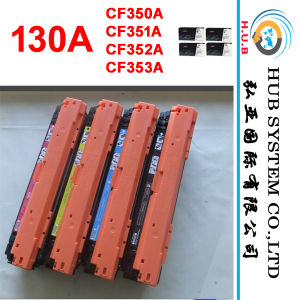 Genuine Toner Cartridge for HP 130A (CF350A, CF351A, CF352A, CF353A) pictures & photos