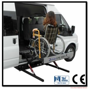 Electric and Hydraulic Wheelchair Lift for Van Side Door with CE Certificate pictures & photos