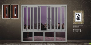 Customized Window with Aluminium Frame pictures & photos